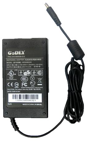 Блок питания к принтеру GoDEX серии DT2/DT4, G500, RT200, RT700, RT800, MX20/MX30