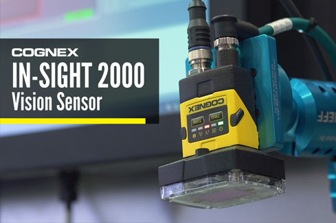 Видеодатчики Cognex серии In-Sight 2000
