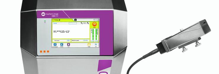 Мелкосимвольный каплеструйный принтер Markem-Imaje 9410
